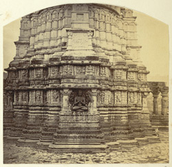 [Part of the base of a temple tower], Aonda